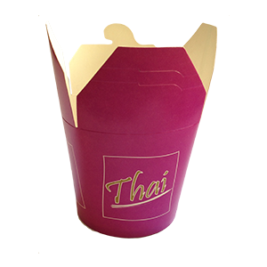 Pasta box thai